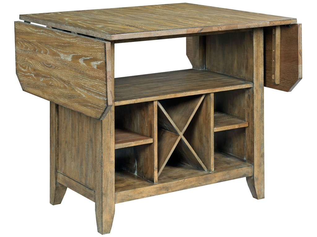 Kincaid Furniture Kitchen Island Complete 663 746p