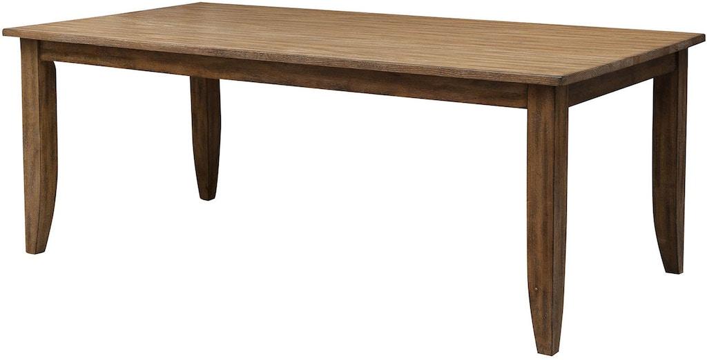 Kincaid Furniture Dining Room 60 Quot Rectangular Leg Table