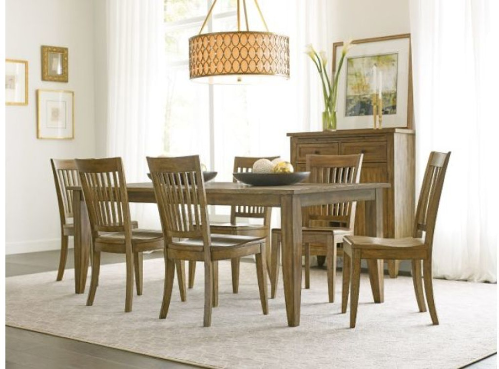 Kincaid Furniture Dining Room Wood Seat Side Chair 663-622 ...