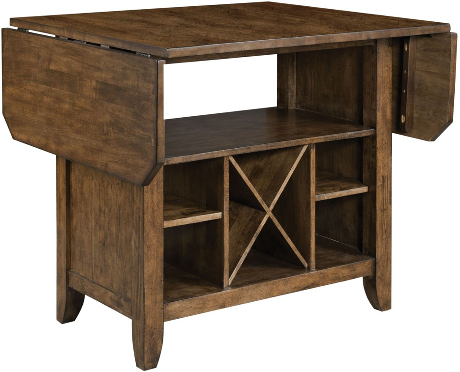 The Nook Maple Kitchen Island Complete