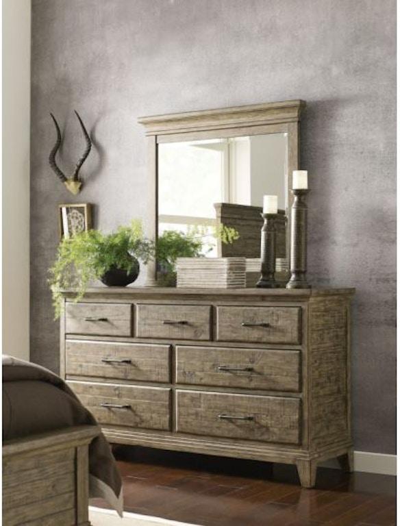 Kincaid Furniture Bedroom Farmstead Dresser 706 120s Carol House