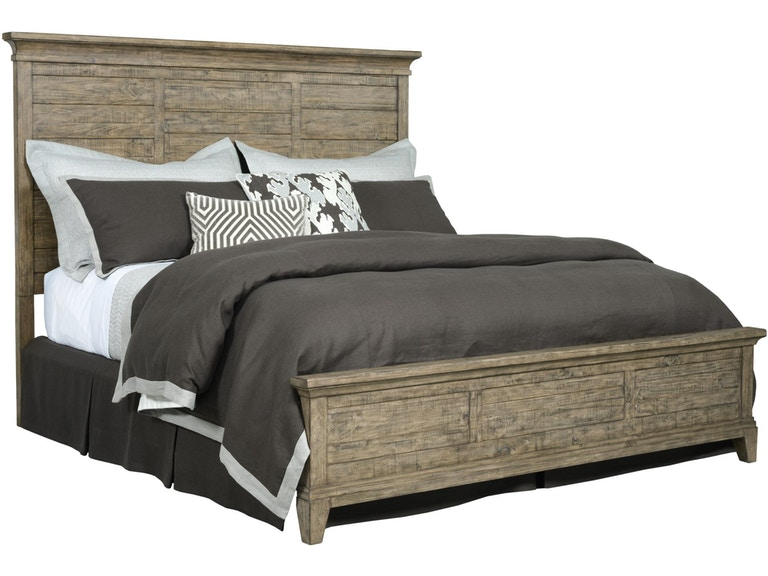 Kincaid Furniture Queen Panel Bed Jessup Plank Road 308141p