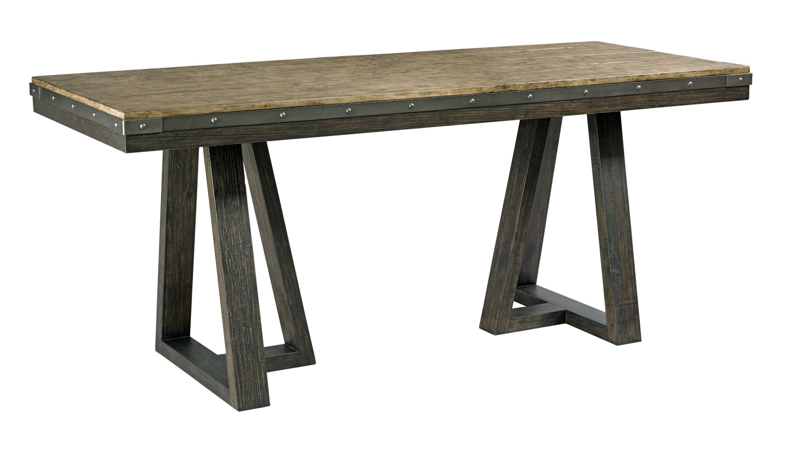 Kincaid Furniture Bar And Game Room Kimler Counter Height Dining Table  Complete