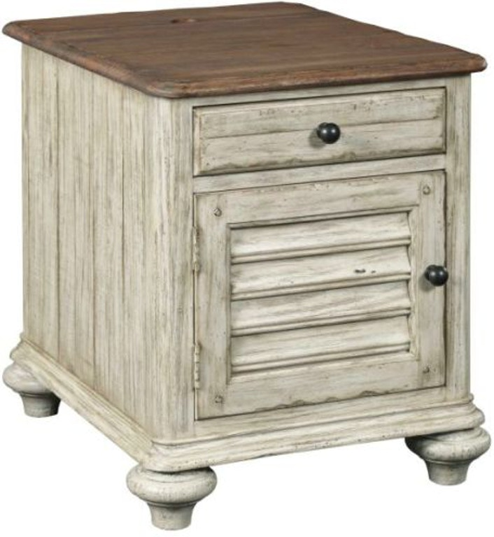 Kincaid Furniture Living Room Weatherford Chairside Table