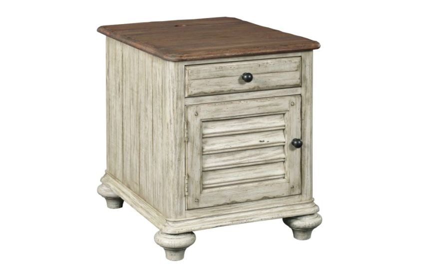 Kincaid Furniture Weatherford Chairside Table
