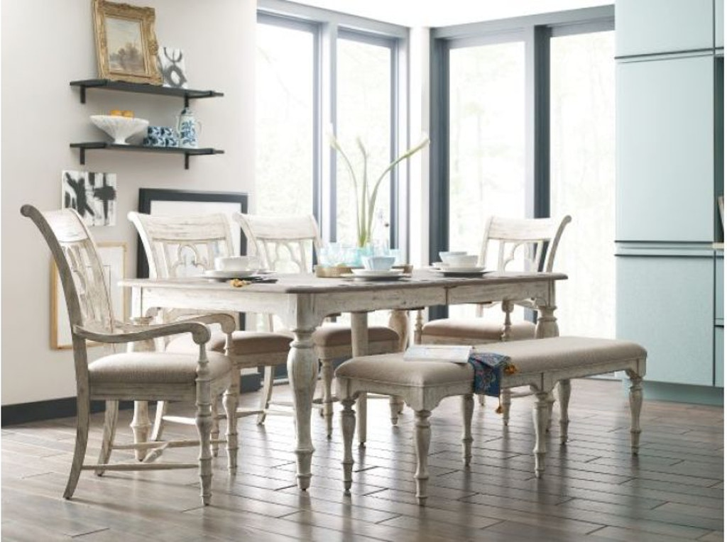 Kincaid Furniture Dining Room Belmont Dining Bench 75-068 ...