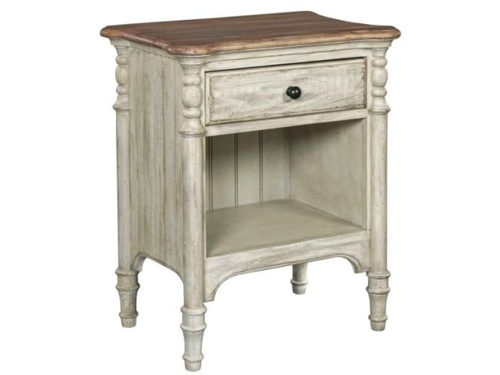 Kincaid furniture bedroom open nightstand 75 143 indian for Kincaid furniture