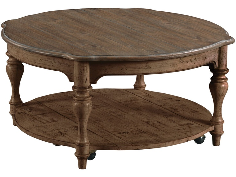 Kincaid Furniture Bolton Round Tail Table 76 024 Available To Order At Flemington Department