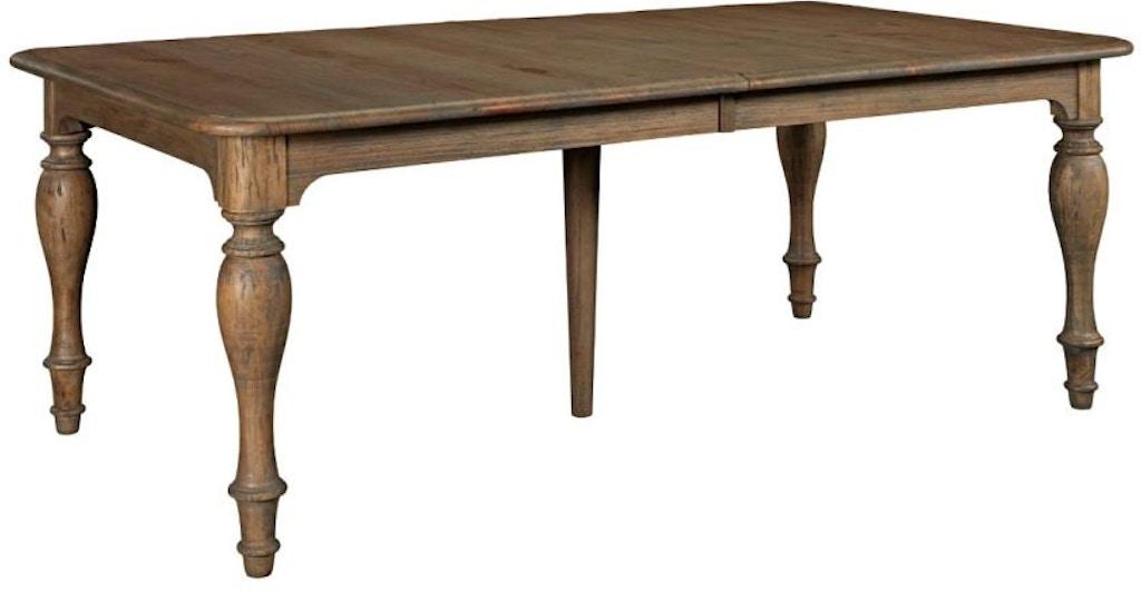 Kincaid Furniture Dining Room Canterbury Table 76-054 ...