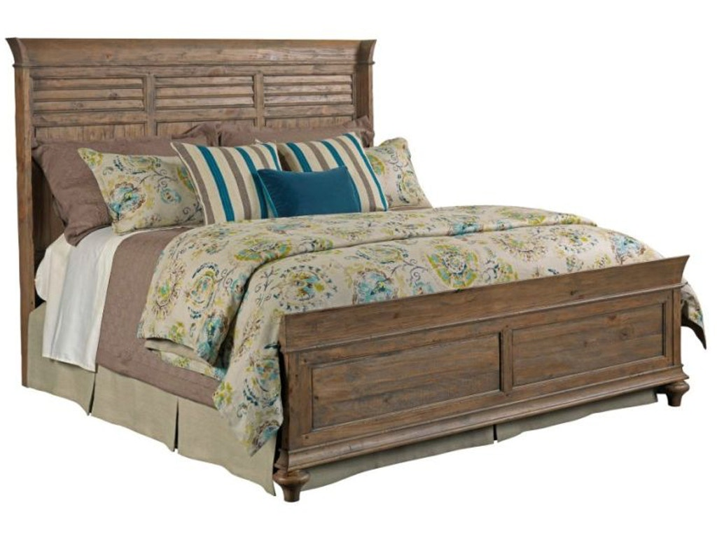 Kincaid furniture bedroom shelter bed 6 6 pckge 76 131p for Q furniture and mattress beaumont tx