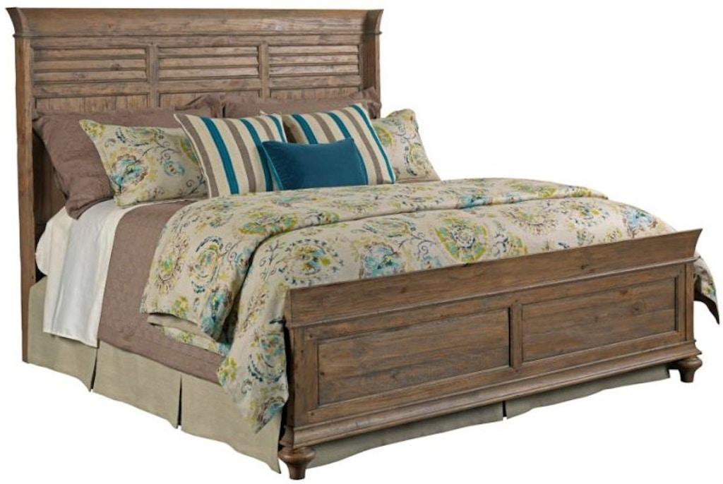 Kincaid Furniture Bedroom Shelter King Bed Complete 76