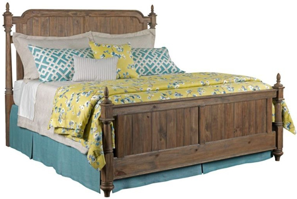 Kincaid Furniture Bedroom Westland Queen Bed Complete 76 135p D Noblin Furniture Pearl And