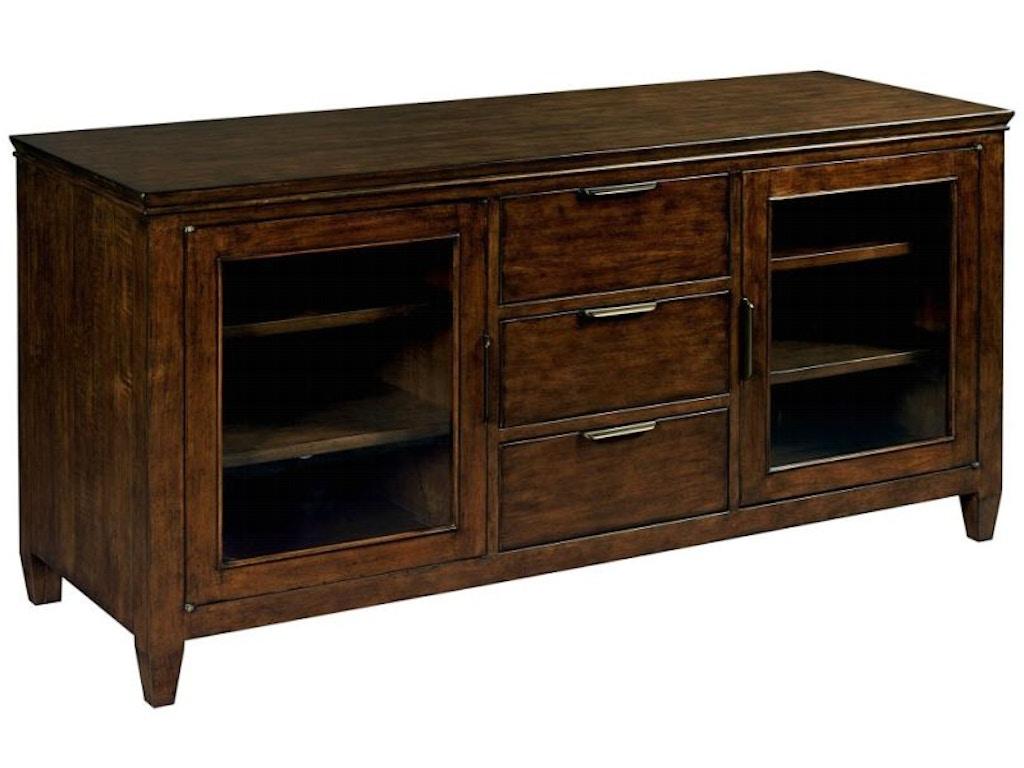 Kincaid furniture living room accord 58 console 77 035 for Kincaid furniture