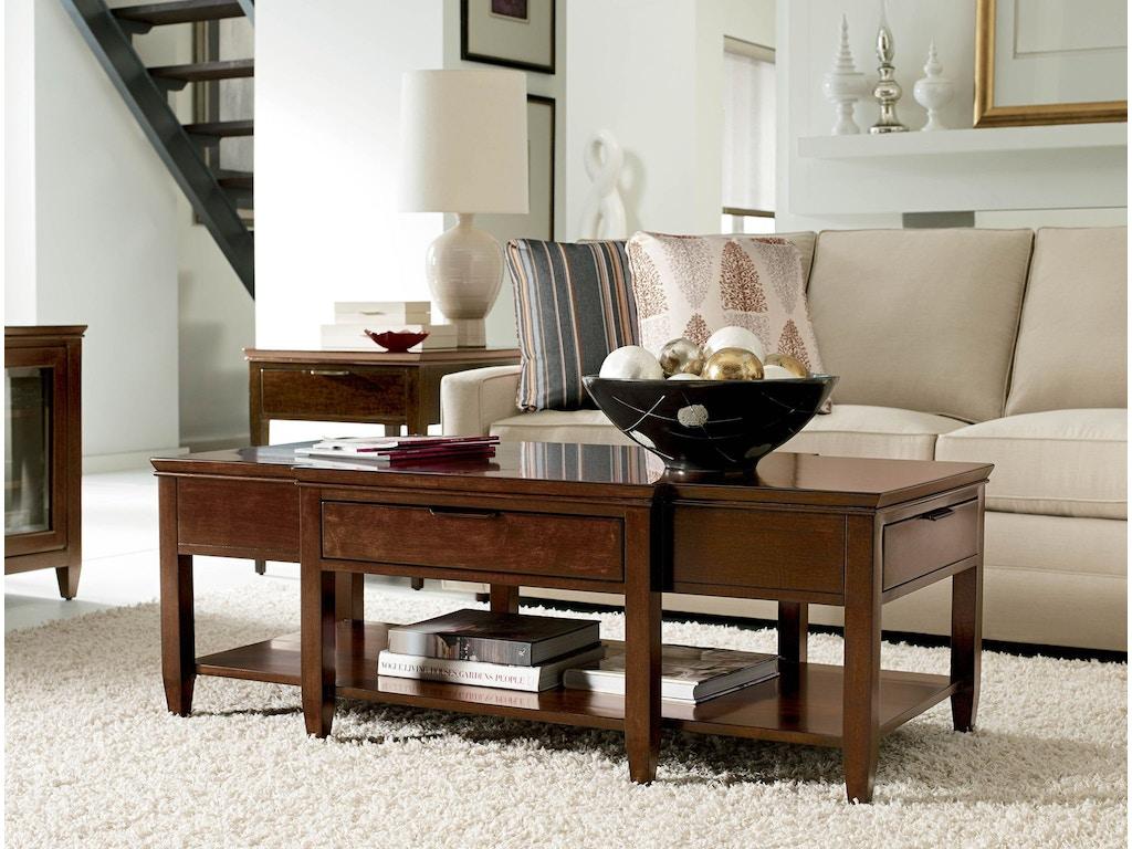 Kincaid furniture living room elise cocktail table 77 023 for Living room cocktail table