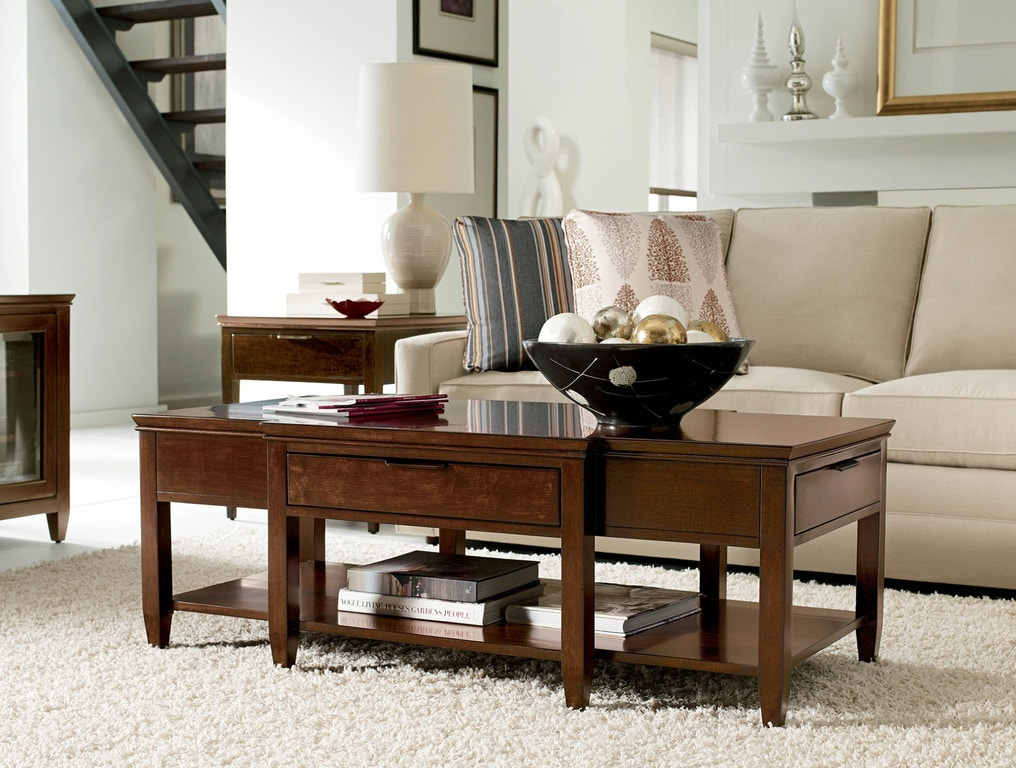 Kincaid Furniture Living Room Elise Cocktail Table 77 023 Shofer 39 S Baltimore Md