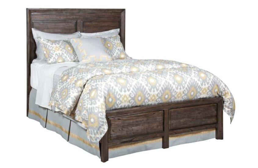 Kincaid Furniture Bedroom Borders Panel King Bed Complete 84 131pv