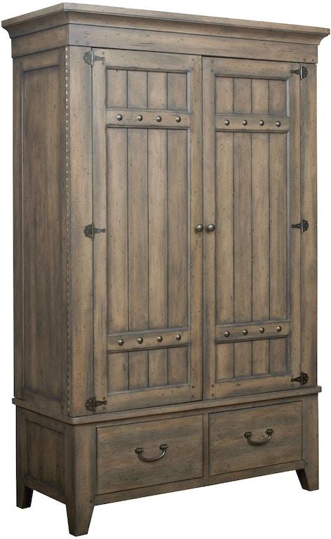 Kincaid Furniture Bedroom Simmons Armoire - Complete 860 ...