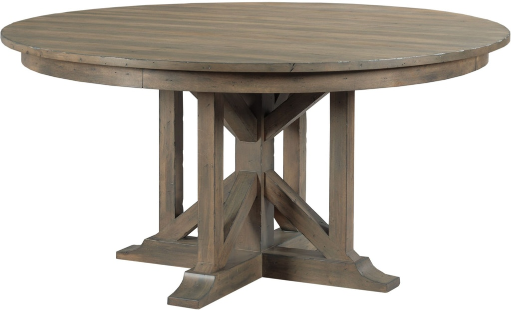 Kincaid Furniture Dining Room Rogers Round Dining Table ...