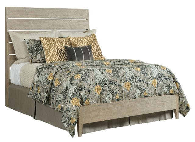 Kincaid Furniture Bedroom Incline Oak California King Bed Low Footboard Complete 939 306p D