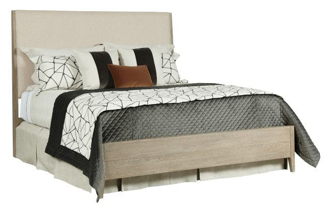 Kincaid Furniture Bedroom Incline Fabric California King Bed Medium Footboard Complete 939 324p