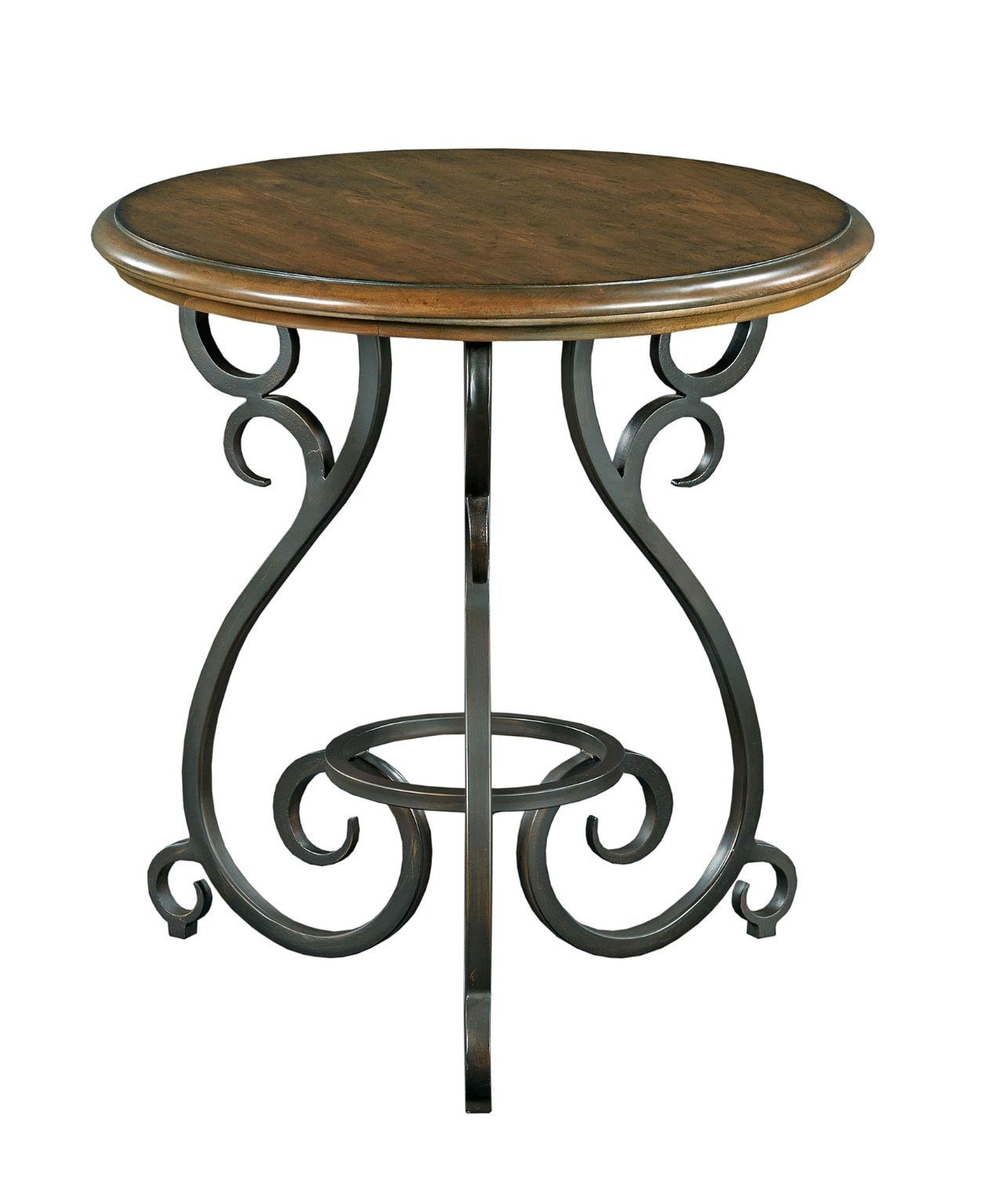 Kincaid Furniture Accent Table With Metal Base 95 020