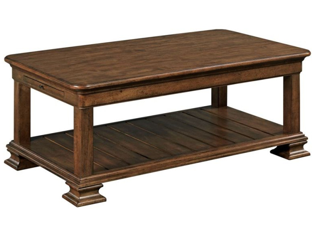 Kincaid Furniture Living Room Rectangular Cocktail Table 95 023 Hickory Furniture Mart