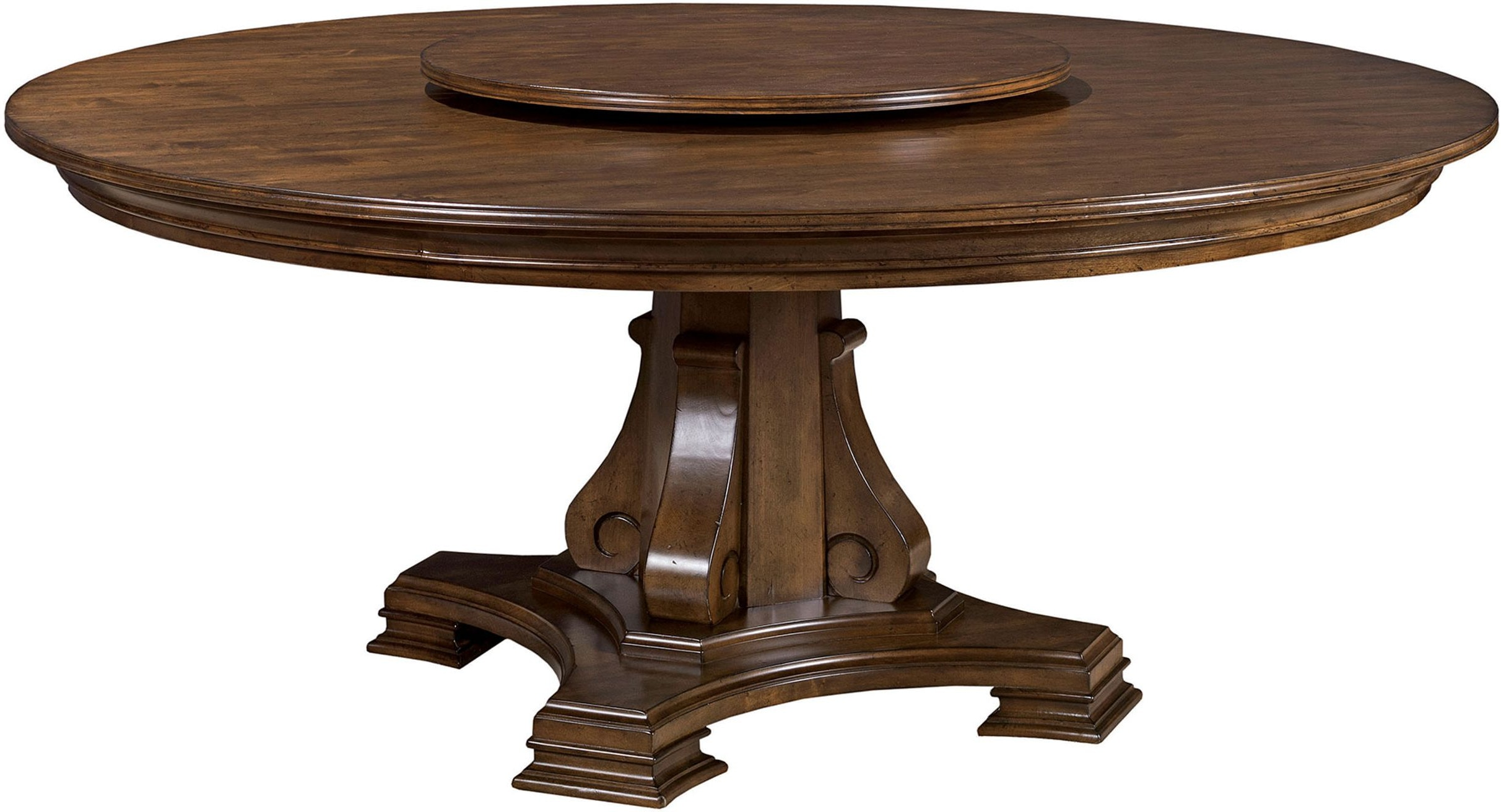 Kincaid Furniture Dining Room 72 Round Table Top 95 053t Walter E Smithe Design