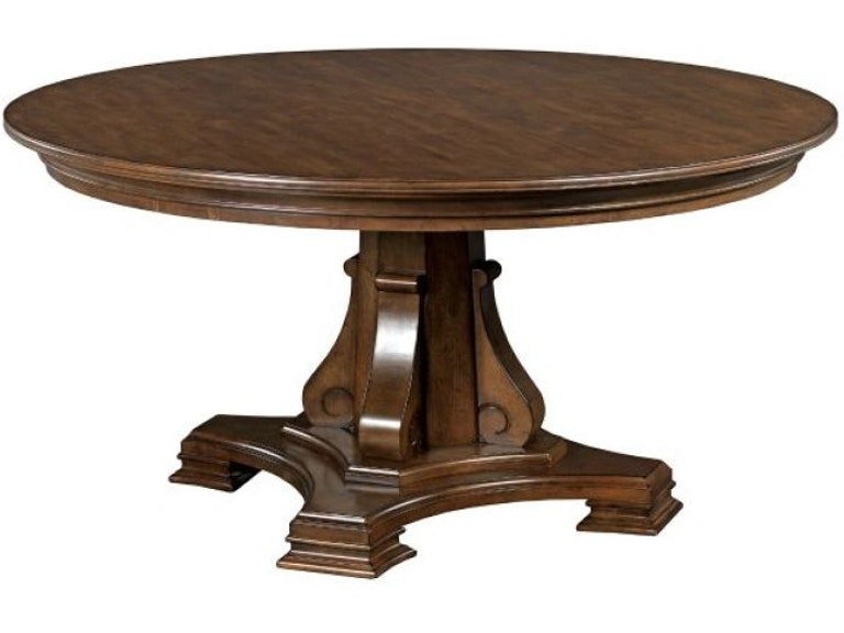 Kincaid Furniture Dining Room Round Dining Table Base 95 052b D Noblin Furniture Pearl And