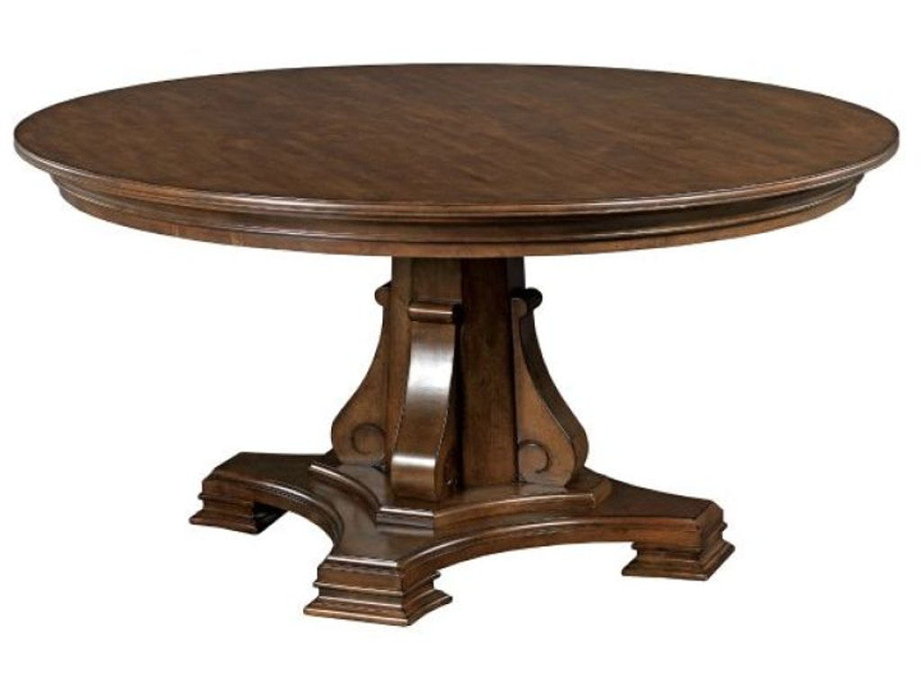 kincaid furniture 95 052b round dining table base interiors camp hill lancaster. Black Bedroom Furniture Sets. Home Design Ideas