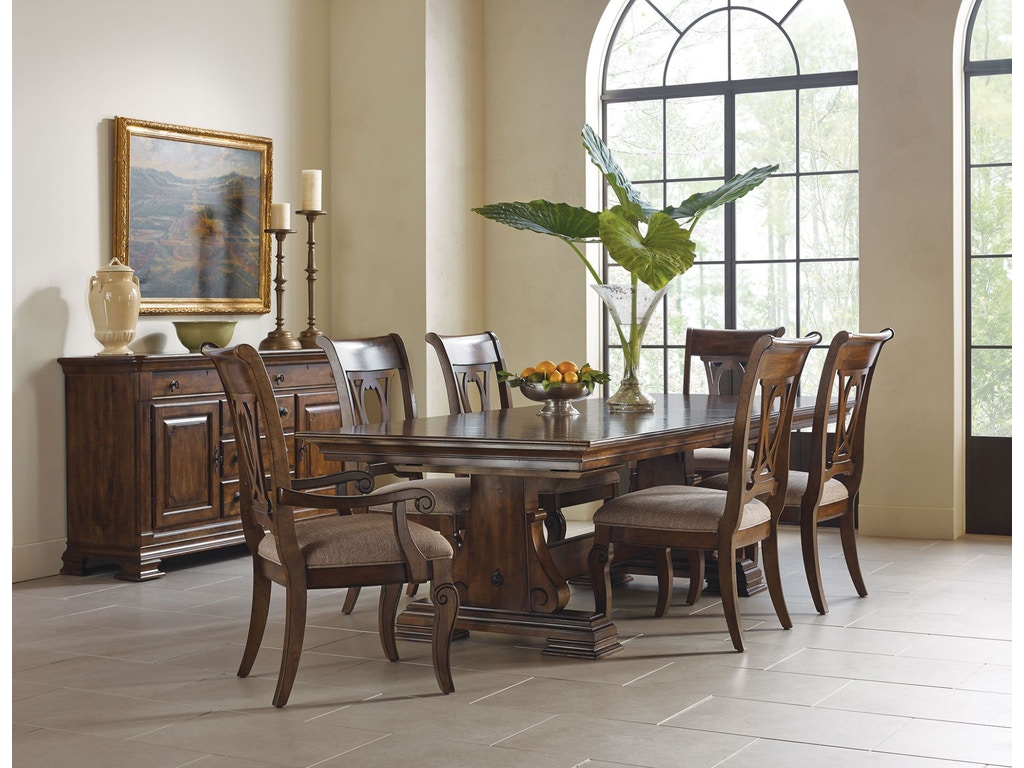 Kincaid Furniture Dining Room Dining Table Base 95-054B - Shofer\'s ...