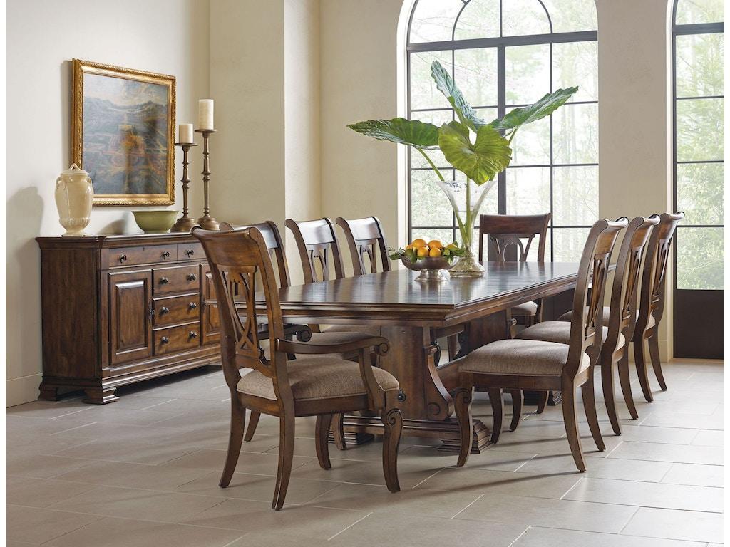 Kincaid Furniture Dining Room Dining Table Base 95 054B Shofers