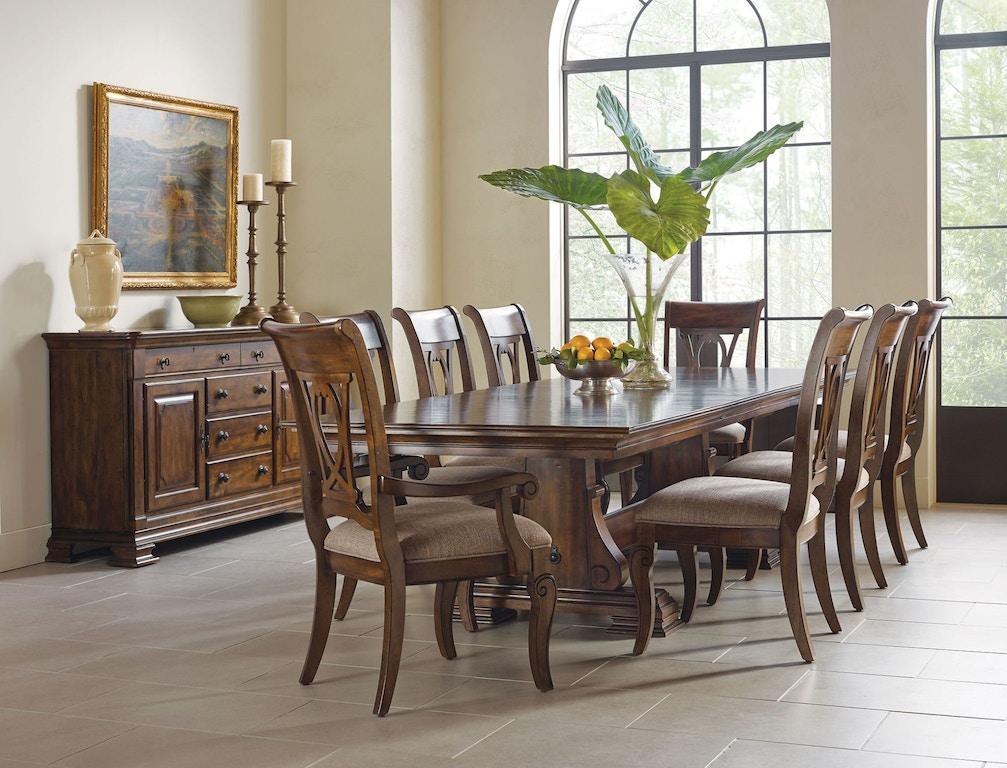 Kincaid Furniture Dining Room China Base 95-084 - Flemington ...