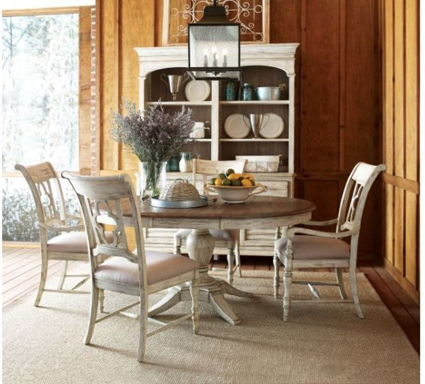 Kincaid Furniture Dining Room Milford Round Dining Table 75 ...