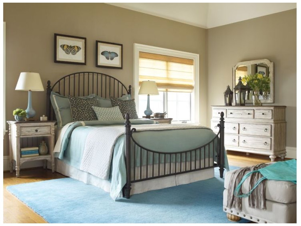 Kincaid Furniture Bedroom Catlins Metal Bed 5/0 75-125 | Hickory ...