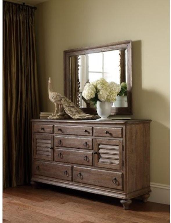 Kincaid Furniture Bedroom Ellesmere Dresser 76 160 Good S