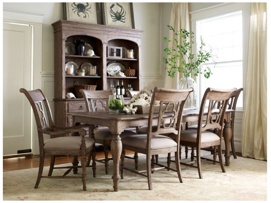 Kincaid Furniture Hastings Open Hutch Buffet Pkg 76 079P