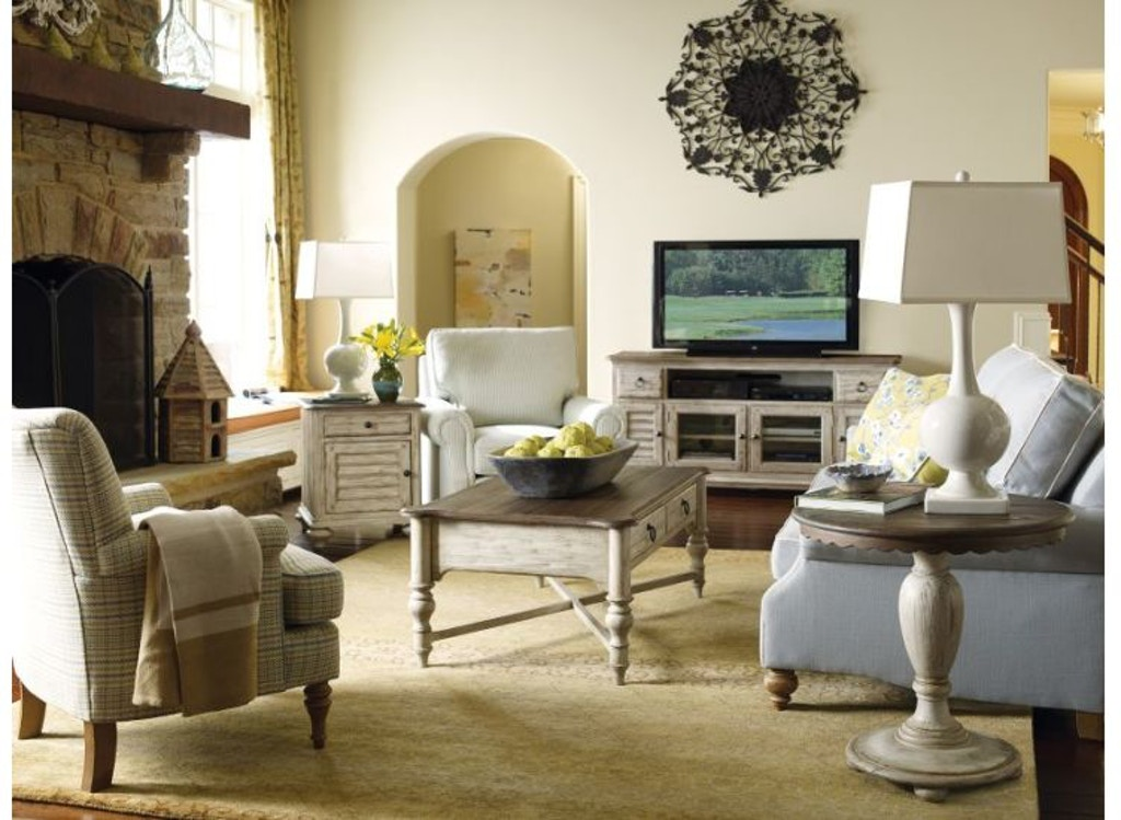 Kincaid Furniture Living Room Weatherford Accent Table 75-020 ...