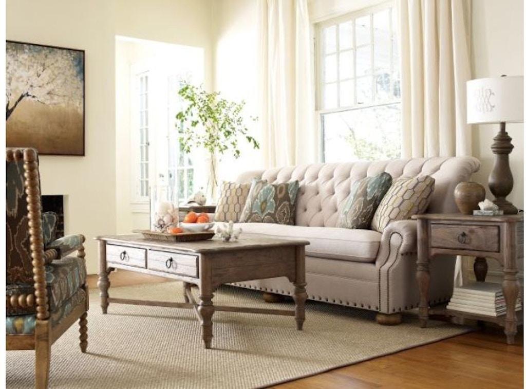 Kincaid Furniture Living Room Weatherford Cocktail Table