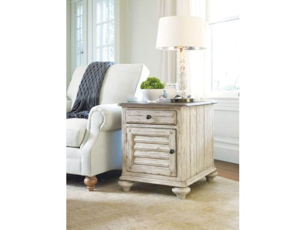 Kincaid Furniture Living Room Weatherford Chairside Table 75 026 Carol House Furniture