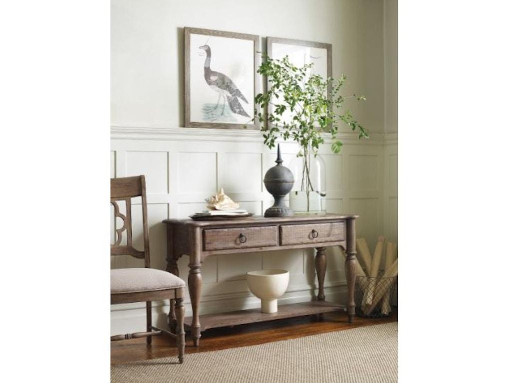 Kincaid Furniture Living Room Weatherford Sofa Table 76
