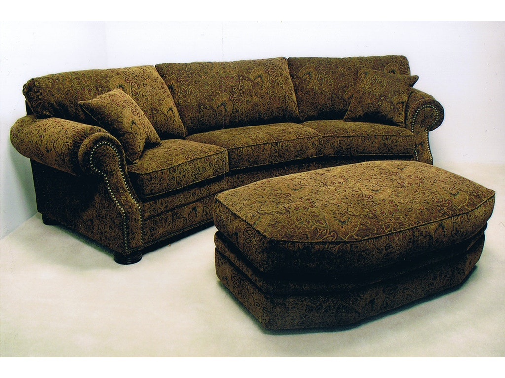 Lacrosse Living Room 120 Two Piece Conversation Sofa