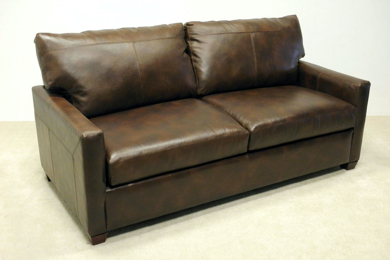 lacrosse leather sleeper sofa
