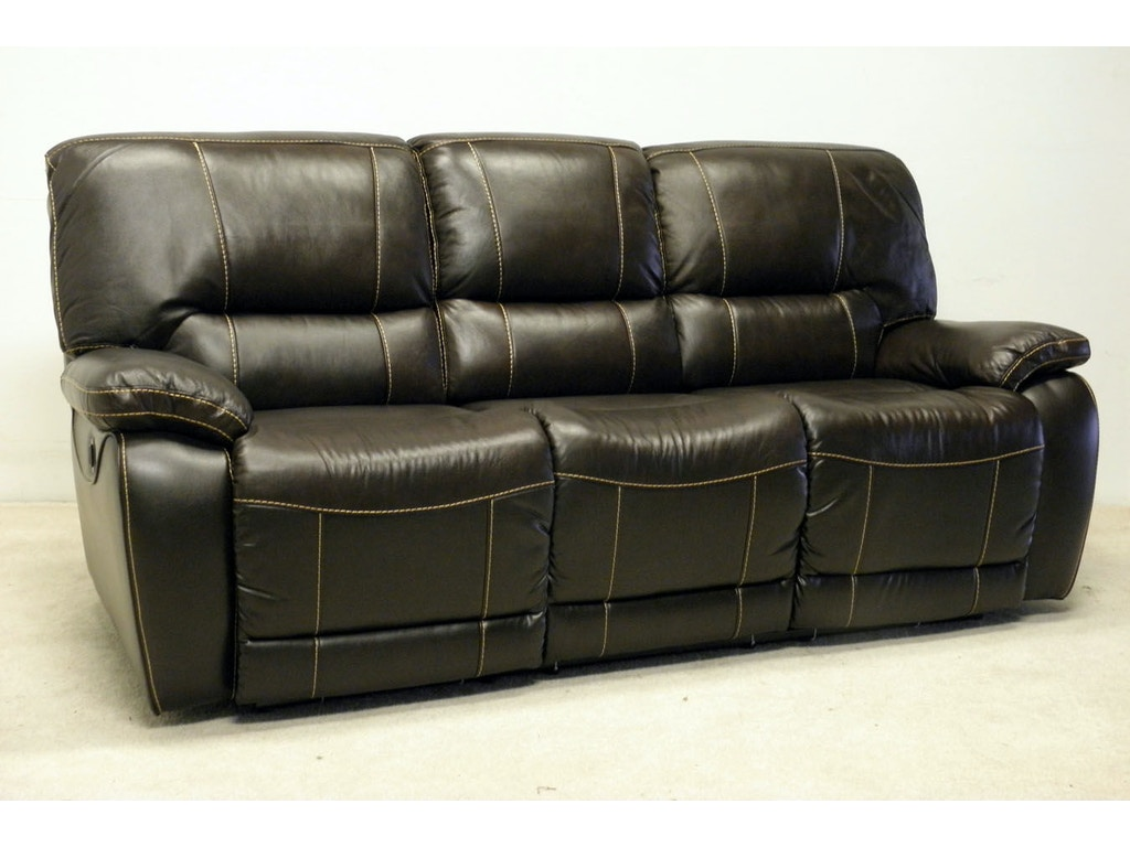 Lacrosse Living Room 85 Double Reclining Sofa With 2