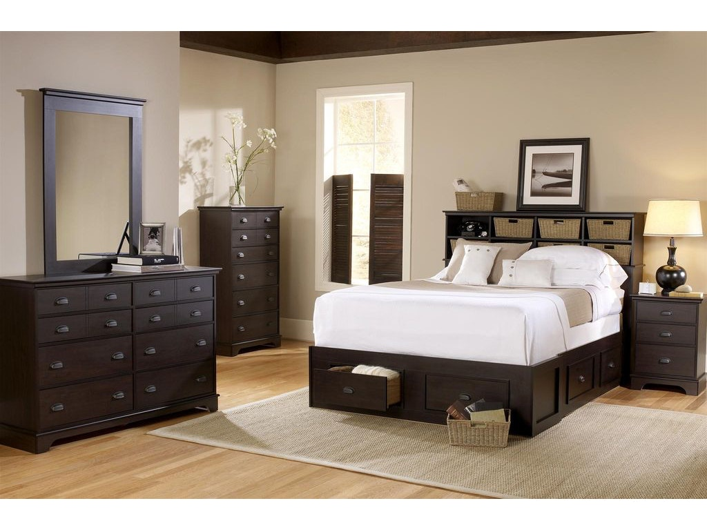 Lang Bedroom Furniture Lang Furniture Youth Cubby Headboard Queen Full Bay 01 5 0h19