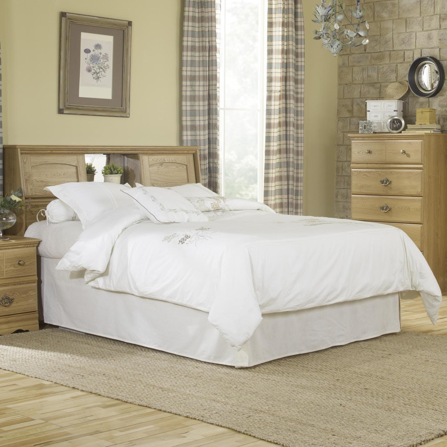 Lang Furniture Bedroom Bookcase Headboard Full Queen W