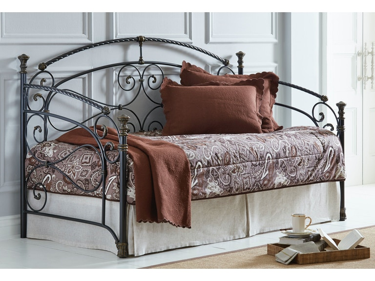 Largo International Bedroom Metal Daybed 1652 Indian River