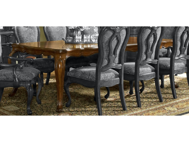 Largo International Dining Room Rectangular Table D121A 31 At BF Myers Furniture