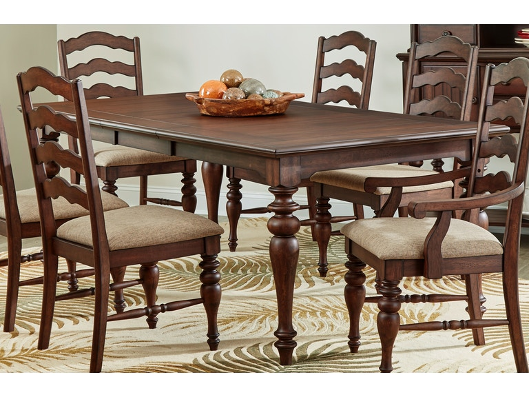Largo International Dining Room Rectangular Dining Table D128 31