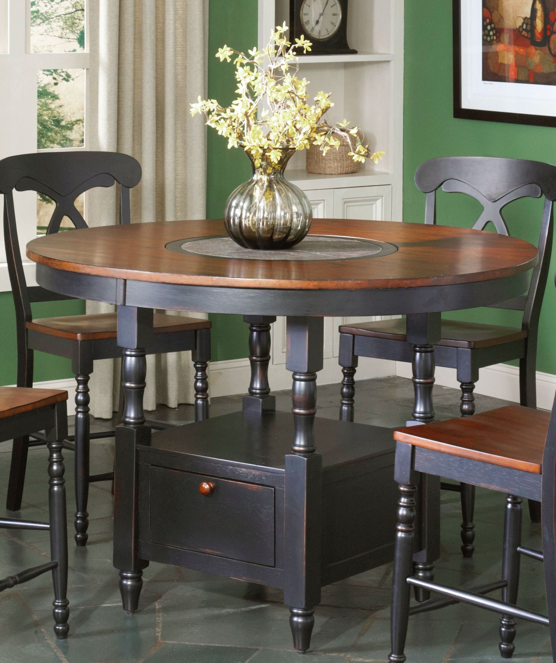 Largo International Bar And Game Room Counter Height Table