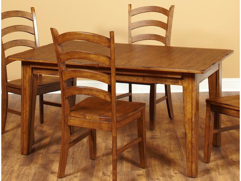 Largo International Rectangular Dining Table Legs D293 31B